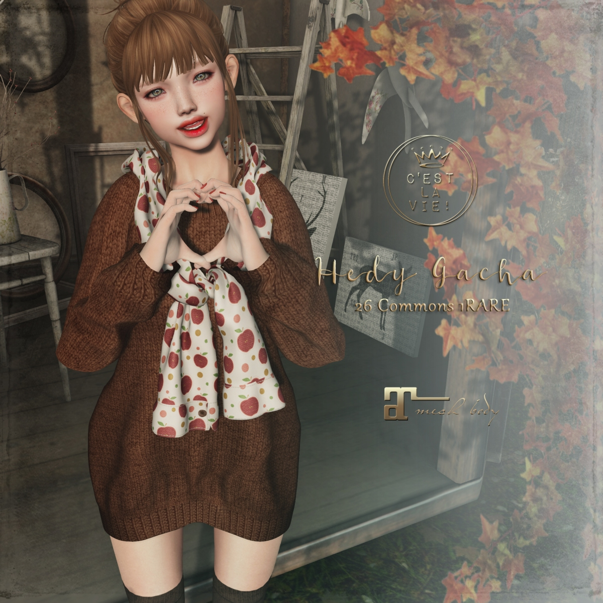 ::C'est la vie !:: Hedy Gacha 🍂The Project Se7en🍂